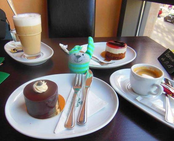 Torta y café en Berlín