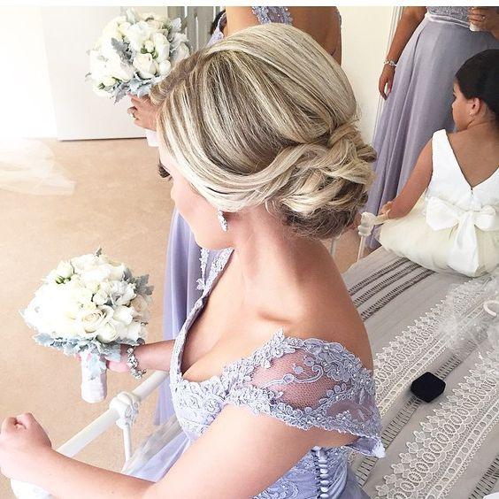 Some stunning #hairspiration via @bridalhairculture