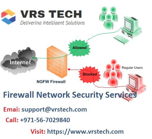 Get The Best Firewall Network Security Services From Vrs Tech Network Security Networking Security Service