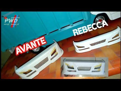 Pembuatan Bemper Avante Miniatur Truk Model Rebecca Youtube In 2021 Miniatur Truk Model Rebecca