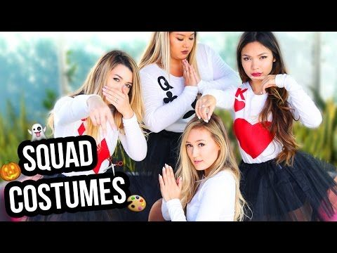 DIY GROUP COSTUMES FOR YOUR SQUAD | LaurDIY - YouTube