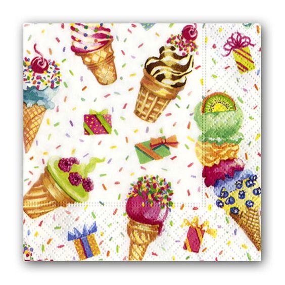 Ice+Cream+Party+Cocktail+Napkins