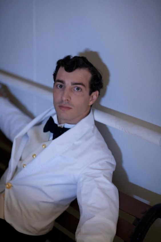 Italian man working as a crew member on the Titanic.: Titanic Tv Series, Italian Man, Crew Member