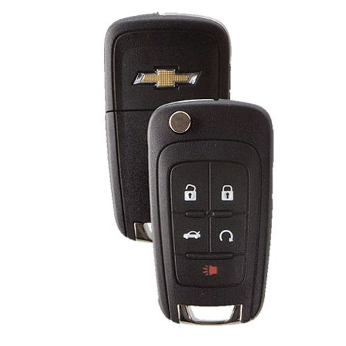 Chevrolet Flip Key Remote 5 Button W Remote Start Chevy Cruze