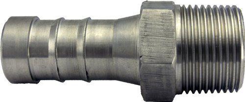 """1/2"""" Male Hose Barb Adapters Stainless Steel NPT 0.5"""" Duda Diesel"""