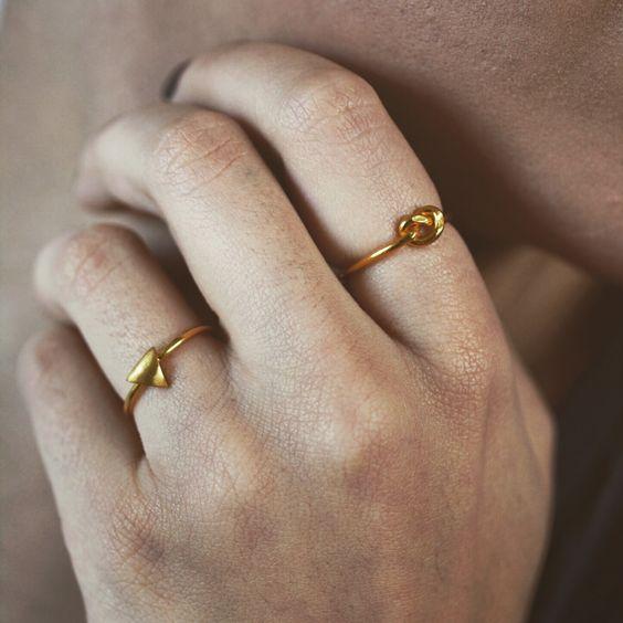 Dainty rings from www.jewelsofjune.com