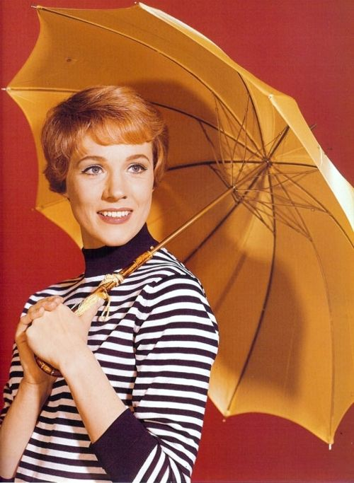 Julie Andrews what a dish :)   She was amazingly talented as she stared in one of my favorite ''old time movies'' thoroughly modern Millie , And an old disney classic Mary pooppins along with a new disney classic princess diaries and many more. Julie Andrews was a glorious actress, she was all but dreary and boring.She could dance, sing , act, play the piano, and maintian a good personality all in one. she was a top notch actress who deserves a great deal of respect honor and love <3