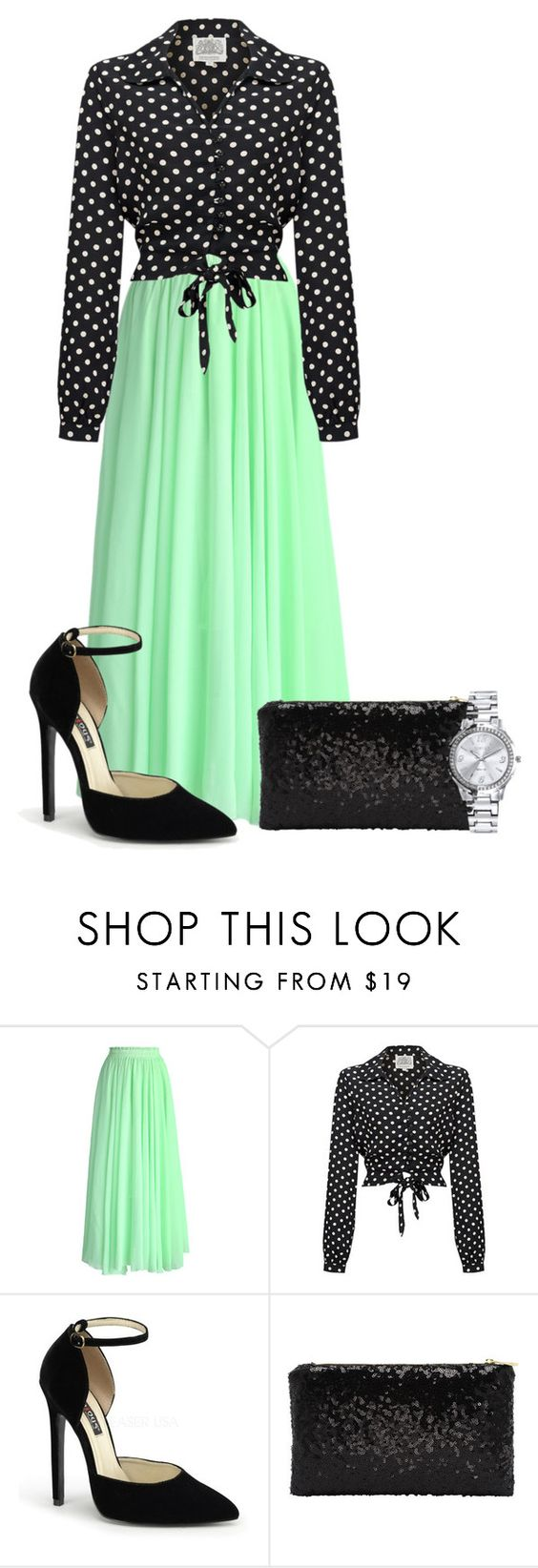 """""""Sunday Service"""" by shiningalight99 ❤ liked on Polyvore featuring Chicwish and Mestige"""