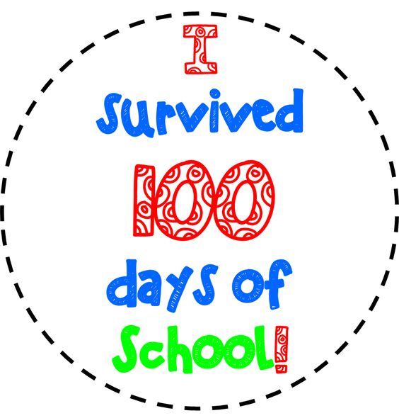 Image result for 100th day clip art