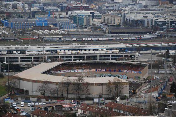 Hardturm Stadion - Als die Bagger einfuhren Anfang Dezember 2008