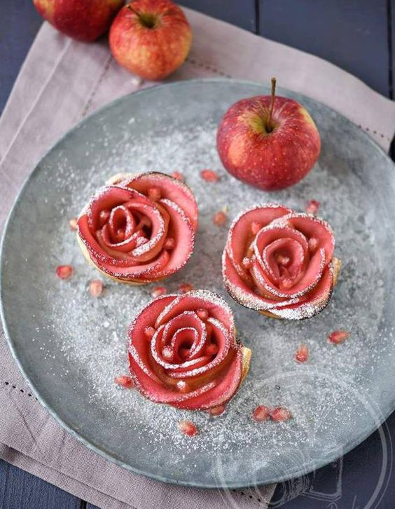 Rose de pomme : découvrez comment préparer des roses de pomme facilement, et des recettes inspirantes à reproduire chez soi....