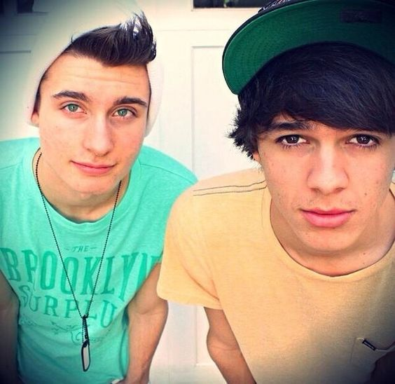 Chris Collins and Brent Rivera