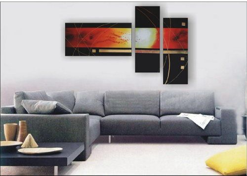TOPSELLER! Modern Abstract Art Oil Painting STRETCHED READY TO HANG OPZ-3-12 $59.99