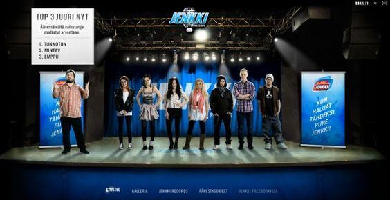 Jenkki Chewing Gum: Jenkki Records – Online Audition Final phase