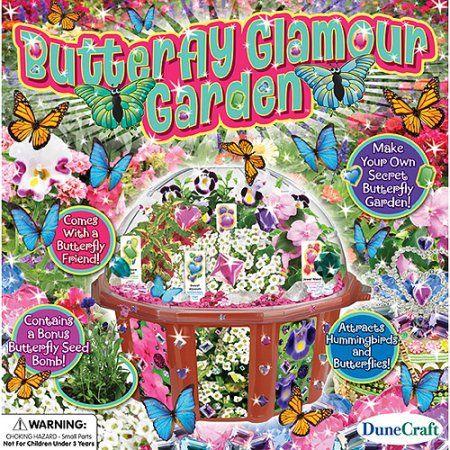 DuneCraft Butterfly Glamour Garden, Multicolor