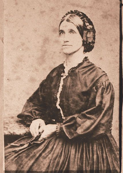 Arnold, Laura Jackson. ca. 1865.  Laura Jackson Arnold, the sister of Thomas J…: