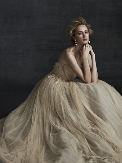 This designer!!!!! sameulle couture based in NYC. fave fabrics = hand-dyed silk tulle & chiffon