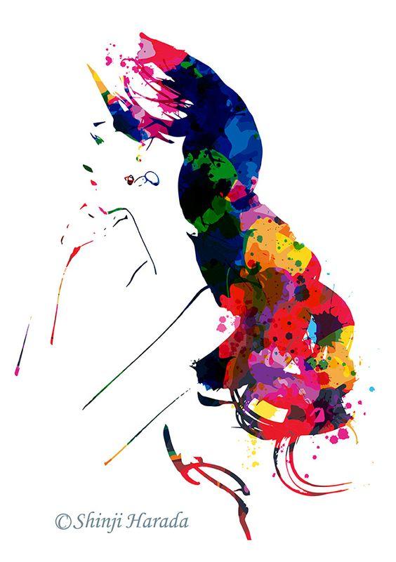 Model:Yuzuki Aizawa illustration:Shinji Harada