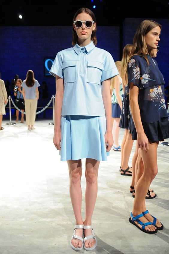 Pin for Later: The Hands-Down Most Wearable Looks to Hit the Spring Runways Charlotte Ronson Spring 2015