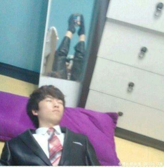 Bay caught me sleeping skill: Asian