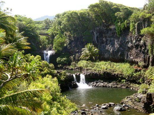 Ohe O Gulch Pools Seven Sacred Pools Seven Sacred Pools Maui Haleakala National Park National Parks