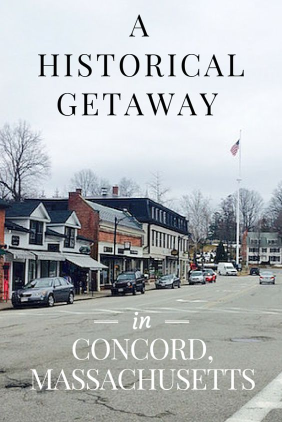 For a city that has more than 300 years of US history embedded into its past, Concord, Massachusetts is a historical attraction that you won't want to miss! http://www.littlethingstravel.com/
