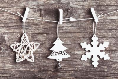 C mo decorar un rbol de navidad con decoraci n r stica navidad - Como decorar un arbol de navidad ...