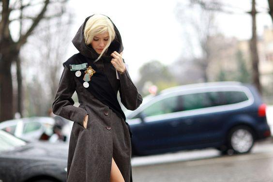Streetstyle: as russas e mais do dia 2 na semana de couture em Paris - Vogue | Fashion weeks