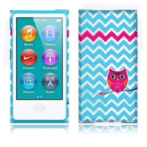 fincibo  tm  apple ipod nano 7  7th generation  back cover hard plastic protector case