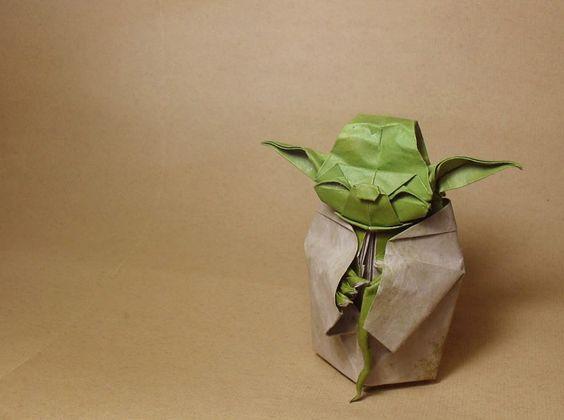 Yoda Origami!