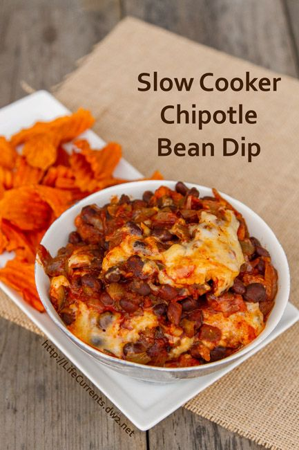 slow cooker dips babies beans cheese crockpot tailgating chipotle bean ...