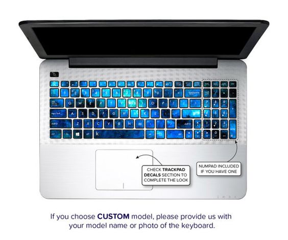 Asus Keyboard Stickers Laptop Skin Decal Acer Chromebook
