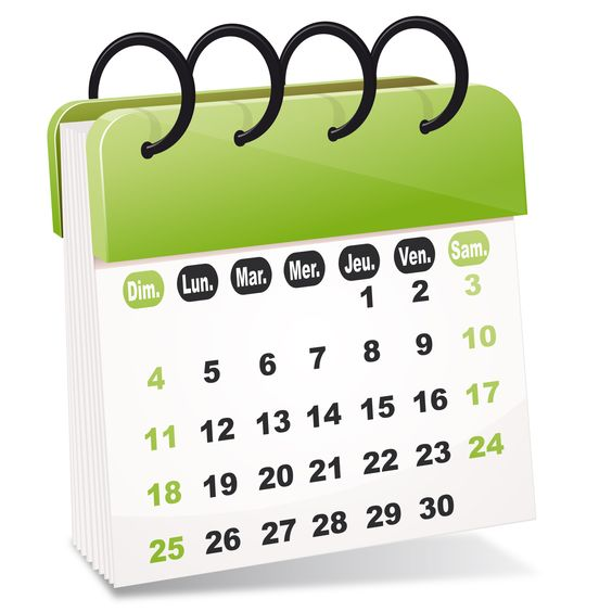 calendrier dates importantes 2014-2015