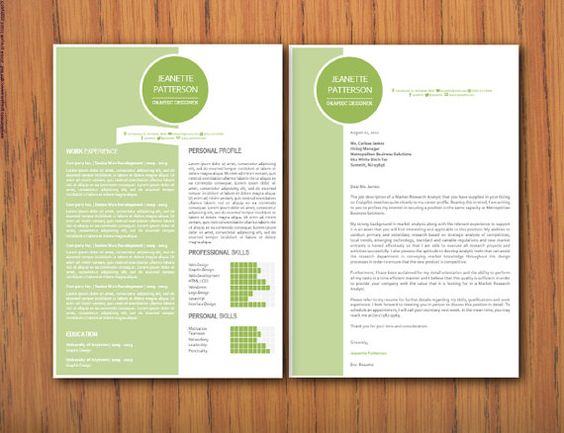 Cv template, Microsoft word and Modern on Pinterest - letter template microsoft word