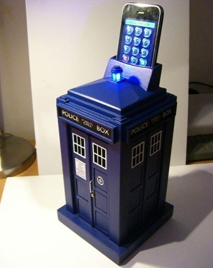 Tardis Smart Safe uses your iPhone to hide your geek valuables