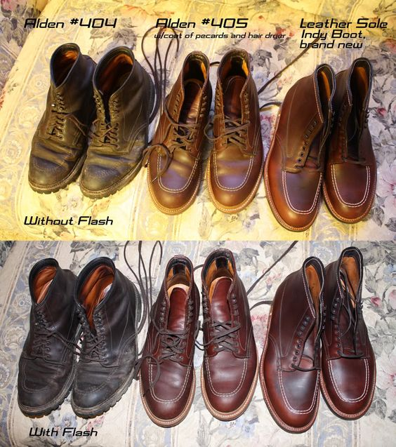 The Second Set Allows You To Get A Look At Each Individual Boot And Their Sole Options Formal Informal Pre Dark Ages Now Pinterest