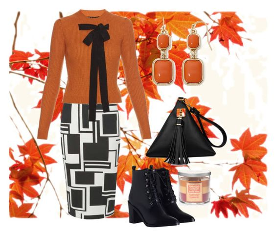 """""""Fall"""" by naviaux ❤ liked on Polyvore featuring Dorothy Perkins, Rochas, Yankee Candle, Zimmermann and Liz Claiborne"""