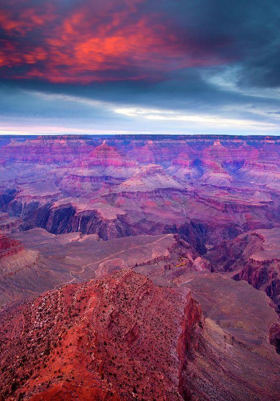 ✮ Red Rock Dusk - AZ