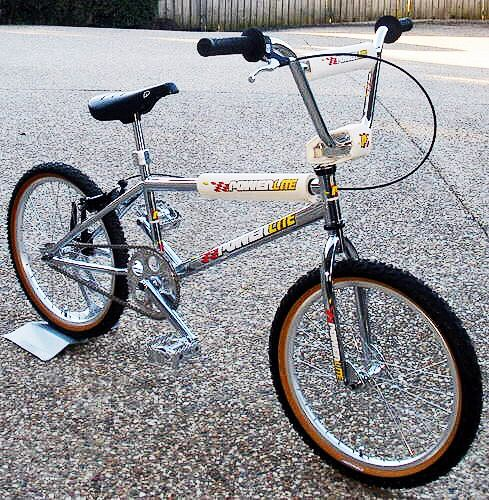 1992 Powerlite Pro Xl Vintage Bmx Bikes Bmx Bikes Bmx Bicycle