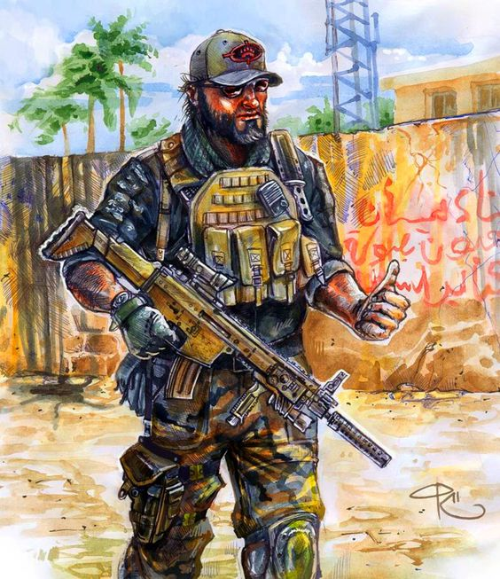 Black Water private security force in Iraq