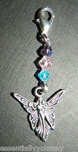 Swarovski Crystal Mystical Fairy Pendant Purse Charm Zipper Pull New | eBay