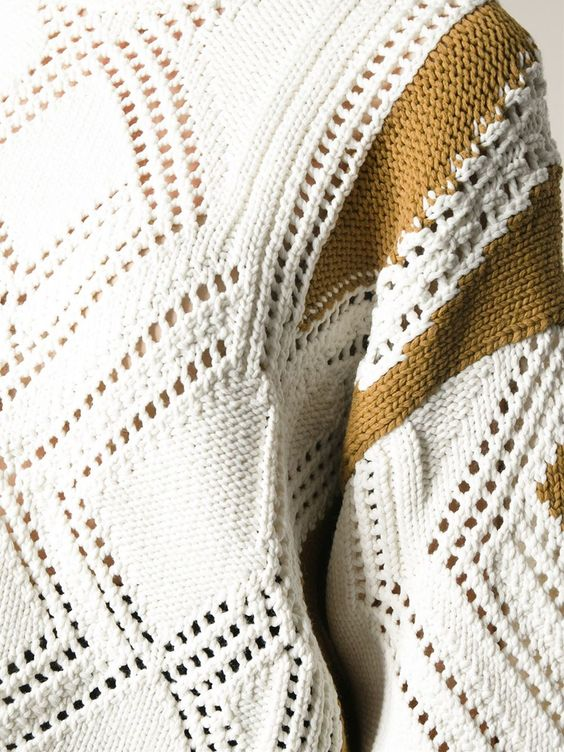 3.1 Phillip Lim Geometric Pattern Sweater - Nugnes 1920 - Farfetch.com