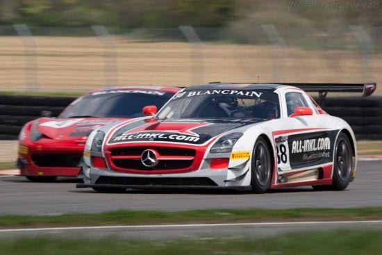 Mercedes Benz Sls Amg Gt3 2012 Coupes De Paques With Images