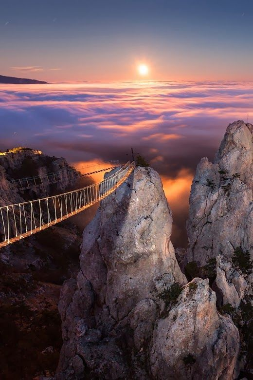 Ai-Petri, Crimea, Ukraine #Places to Visit in Europe