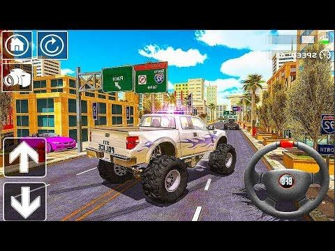 Police Truck Driver Simulator 4x4 Police Monster Truck In City Android Gameplay O Game Channel Android Ios Gaming Chan Monster Trucks Police Truck Trucks