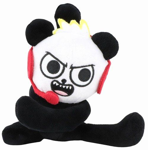 Combo Panda Coloring Page Beautiful Ryans World Bo Panda 10 Plush Pocket Watch Toywiz In 2020 Panda Coloring Pages Panda Floral Pillows