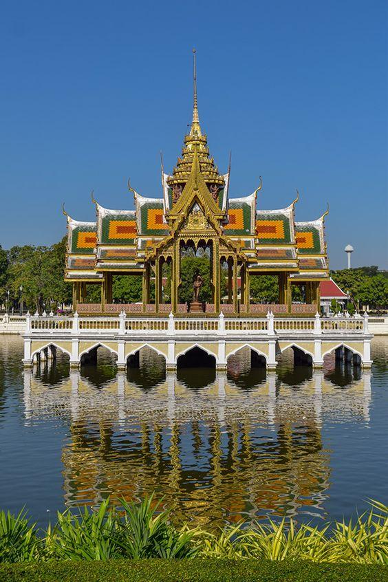 [Chia sẻ] Khám phá du lịch Cung Điện mùa hè Bang Pa-In, Ayutthaya, Thái Lan