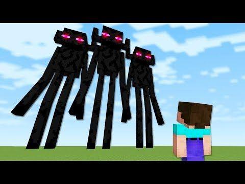 Noob Vs Enderman Mutant In Minecraft Youtube Mutant Noob Minecraft