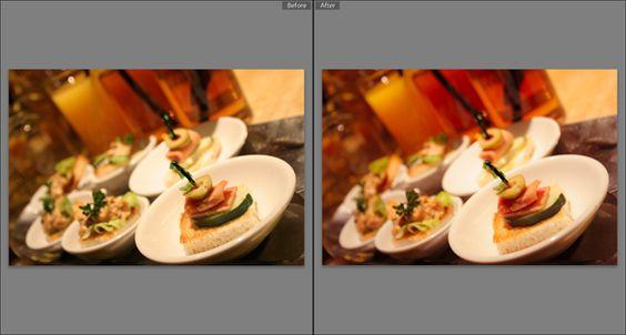 food photography tricks