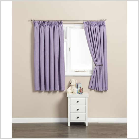Cool Wilko Black Curtain Lilac Within Lilac Blackout Curtains ...